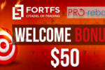 "Fort Financial Services together with PRO-rebate announced the launch of ""Double Bonuses"""